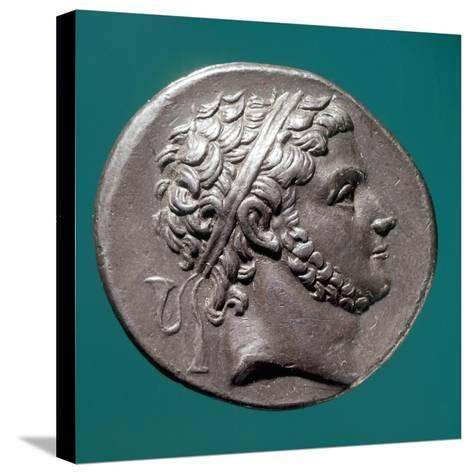 Coin Bearing Image of King Prusias of Bithynia, Hellenistic Coins, 3rd-2nd Century BC--Stretched Canvas Print