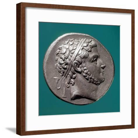Coin Bearing Image of King Prusias of Bithynia, Hellenistic Coins, 3rd-2nd Century BC--Framed Art Print