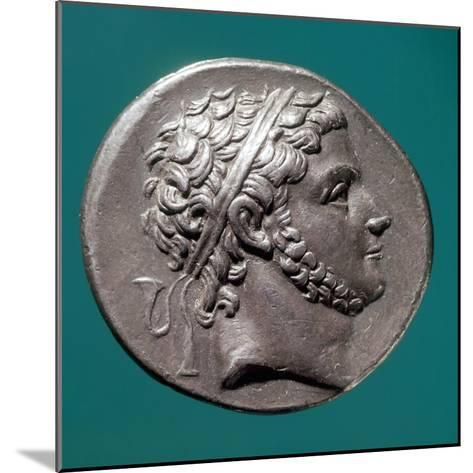 Coin Bearing Image of King Prusias of Bithynia, Hellenistic Coins, 3rd-2nd Century BC--Mounted Giclee Print