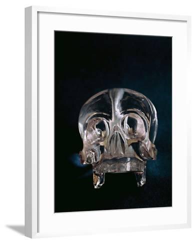 Quartz Crystal Skull--Framed Art Print