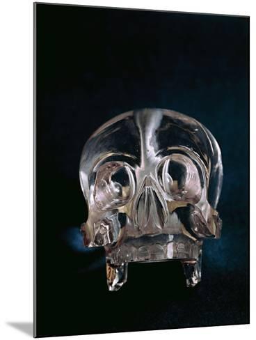 Quartz Crystal Skull--Mounted Giclee Print