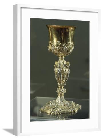 Partly Gilt Silver Chalice--Framed Art Print