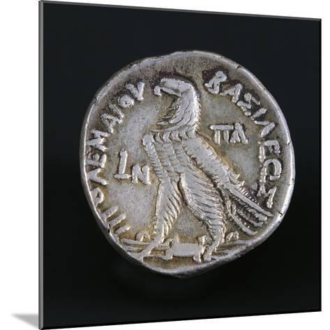 Silver Tetradrachm of Ptolemy I Soter, Depicting Eagle on Thunderbolt, Verso, Egyptian Coins--Mounted Giclee Print