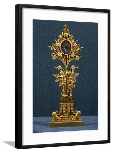 Chiseled Gilded Bronze Reliquary by Pierre-Philippe Thomire--Framed Art Print