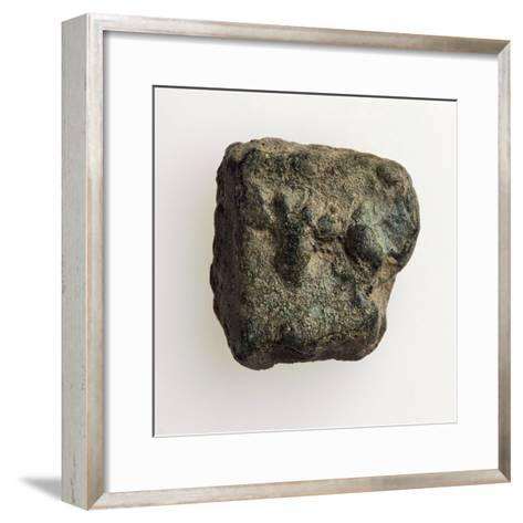 As or Aes Rude, Recto, Roman Coins, 7th Century BC--Framed Art Print