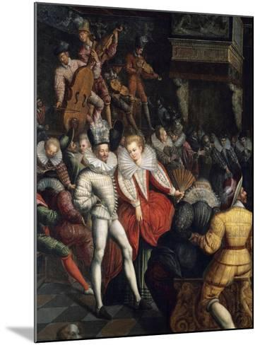 Dance at Valois Court, Circa 1580--Mounted Giclee Print