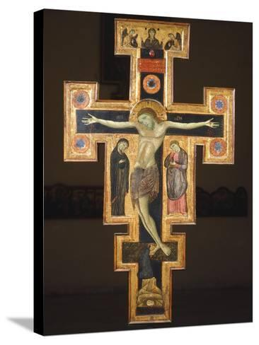 Crucifix, 12th Century--Stretched Canvas Print