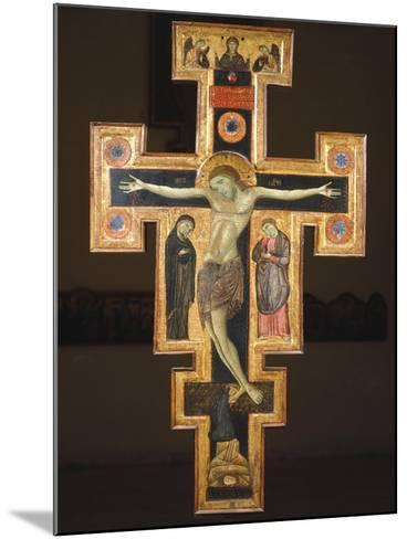Crucifix, 12th Century--Mounted Giclee Print