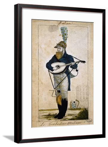 Modern Troubadour, France--Framed Art Print