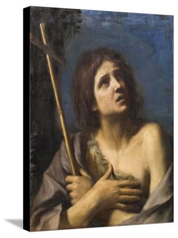 Saint John the Baptist, Francesco Barbieri known as Il Guercino,1591-1666--Stretched Canvas Print