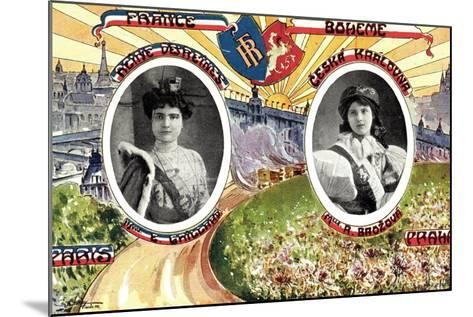 Königin Von Paris Und Von Prag, R. Brozova--Mounted Giclee Print