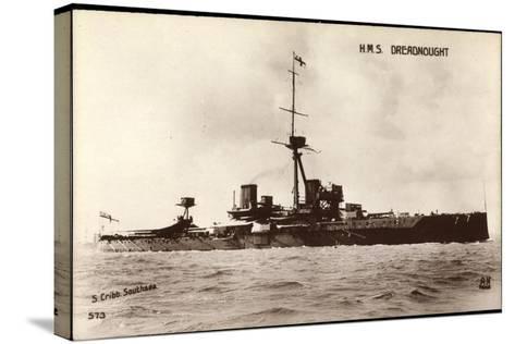 Kriegsschiffe Frankreich, H.M.S Dreadnought--Stretched Canvas Print