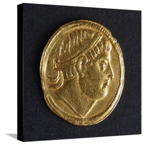 Gold Solidus of Constantine the Great, Minted in Kocaeli, 307-337--Stretched Canvas Print