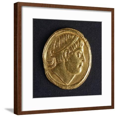 Gold Solidus of Constantine the Great, Minted in Kocaeli, 307-337--Framed Art Print
