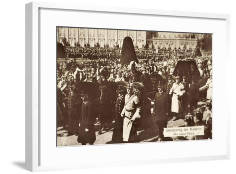 Beisetzung Der Kaiserin Auguste Viktoria 1921--Framed Art Print