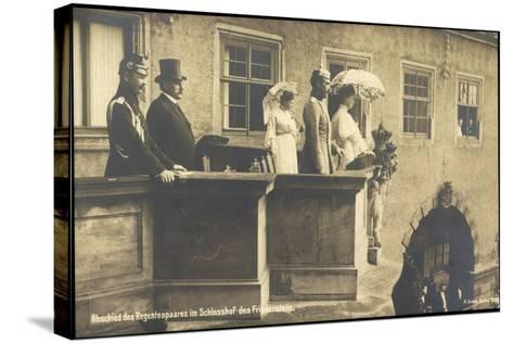 Herzog Carl Eduard, Friedenstein, Balkon, Regenten--Stretched Canvas Print