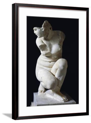 Depiction of Venus, Roman Copy of Greek Original--Framed Art Print
