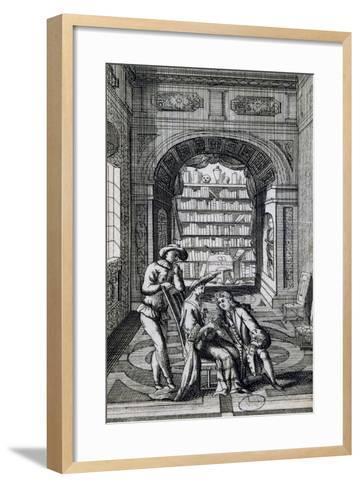 Scene from Wise Daughter, France--Framed Art Print