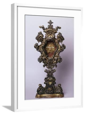 Reliquary from Treasury, Church of Incoronata, Lodi, Italy--Framed Art Print