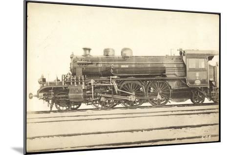 Foto Deutsche Dampflok 8000, T13 Hagans, Berlin--Mounted Giclee Print
