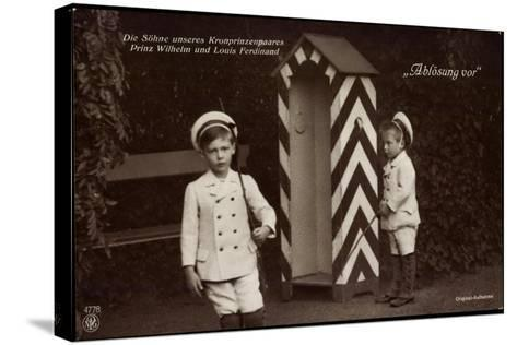 Söhne Des Kronprinzenpaares, Zollhütte, Npg 4778--Stretched Canvas Print