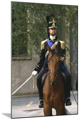 Batteries Riding Regiment Military Officer at Cuirassiers Gala--Mounted Giclee Print