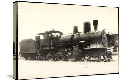 Foto Deutsche Dampflok Nr. 428, 38/1--Stretched Canvas Print