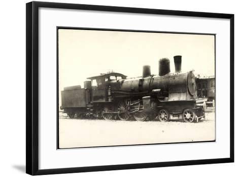 Foto Deutsche Dampflok Nr. 428, 38/1--Framed Art Print
