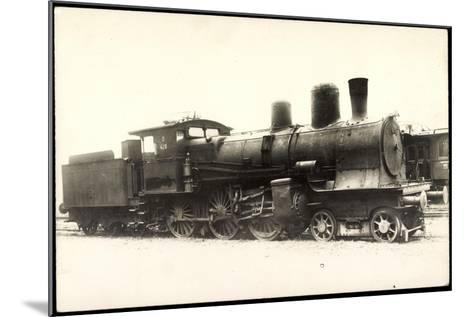 Foto Deutsche Dampflok Nr. 428, 38/1--Mounted Giclee Print