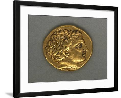 Posthumous Stater of Philip II, Minted by Mint of Pella, 315-294 BC, Recto, Greek Coins--Framed Art Print
