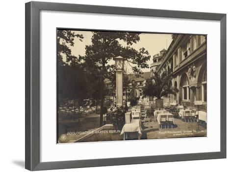 Berlin Tiergarten, Zoologischer Garten, Haupt Restaurant, Jürgensen, Bachmann--Framed Art Print