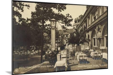 Berlin Tiergarten, Zoologischer Garten, Haupt Restaurant, Jürgensen, Bachmann--Mounted Giclee Print