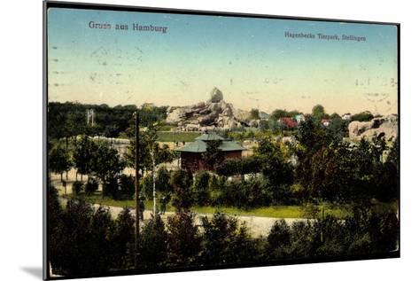 Hamburg Stellingen, Blick Zu Hagenbecks Tierpark, Gehege--Mounted Giclee Print