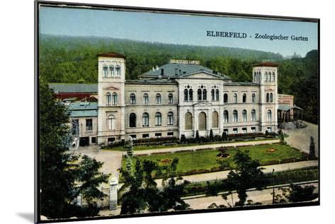 Elberfeld Wuppertal, Blick Auf Den Zoologischen Garten--Mounted Giclee Print