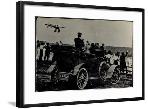 Kunstflieger, Zuschauer, Automobil, La 7626--Framed Art Print