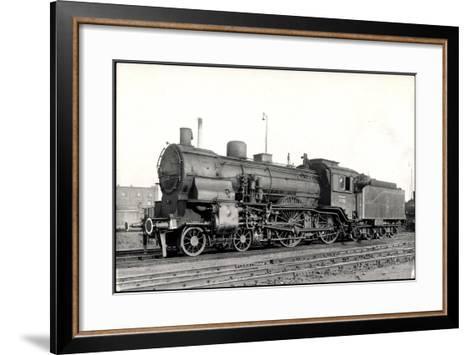 Foto Deutsche Schnelllok Nr. 13 530 Preußen, Tender--Framed Art Print