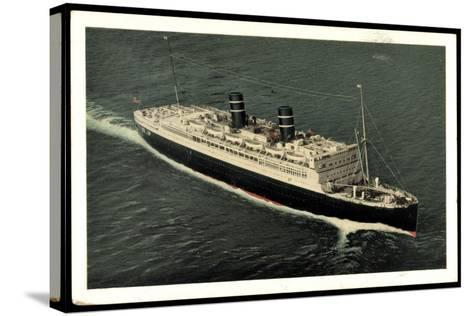 Ward Line, Morro Castle Oriente, Dampfschiff--Stretched Canvas Print