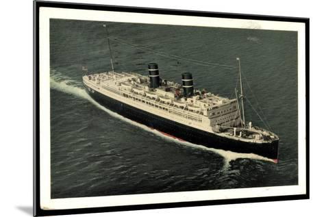 Ward Line, Morro Castle Oriente, Dampfschiff--Mounted Giclee Print