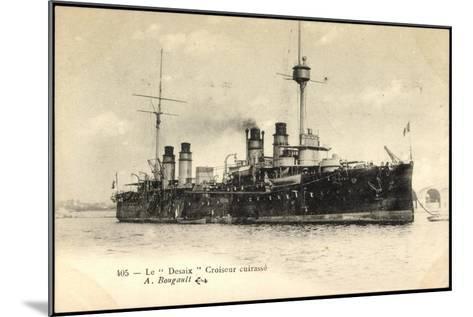Le Desaix Beim Einlauf in Den Hafen, Kriegsschiff--Mounted Giclee Print