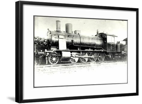 Foto Deutsche G?terlok Nr. 56 004 Preu?en--Framed Art Print
