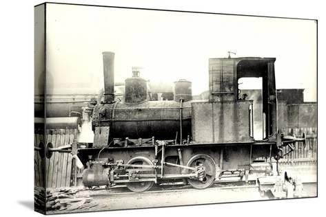 Foto Deutsche Güterzug Nr. 88 7401 Württemberg--Stretched Canvas Print