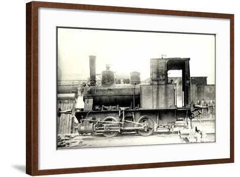 Foto Deutsche Güterzug Nr. 88 7401 Württemberg--Framed Art Print
