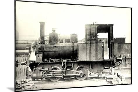Foto Deutsche Güterzug Nr. 88 7401 Württemberg--Mounted Giclee Print