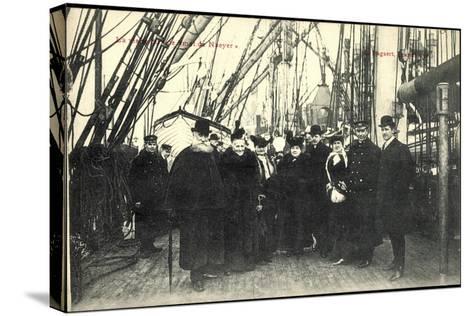Visite Du Smet De Naeyer, Seeleute Belgien--Stretched Canvas Print