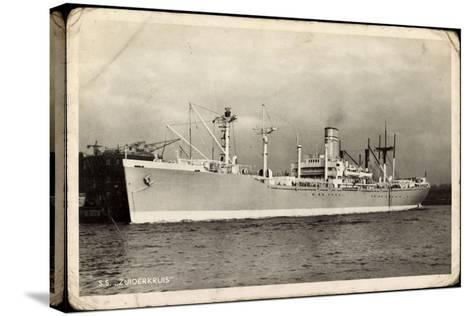 Netherlands Government, S.S. Zuiderkruis, Dampfer--Stretched Canvas Print
