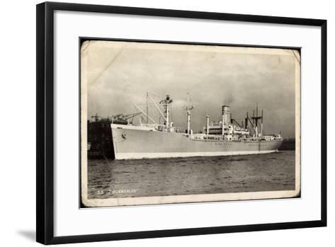 Netherlands Government, S.S. Zuiderkruis, Dampfer--Framed Art Print