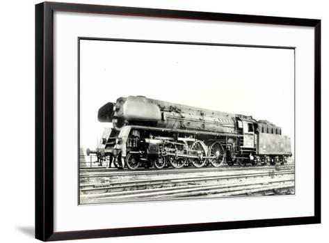 Foto Deutsche Einheitslok Nr. 01 502, Tender--Framed Art Print