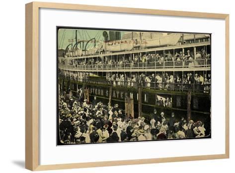 S.S. Eastern States, D&B Line, Dampfschiff--Framed Art Print