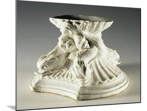 Base Evoking Fountain of Four Rivers by Bernini, 1750-1755--Mounted Giclee Print