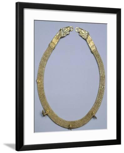 Gold Collar, Gold and Civilization Scythian, 5th Century BC--Framed Art Print